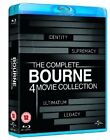 The Bourne Identity / The Bourne Supremacy / The Bourne Ultimatum / The Bourne Legacy (Blu-ray, 2012, 4-Disc Set)