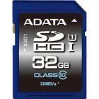 ADATA Secure Digital SDHC Card UHS-I 32 GB  Speicherkarte Class 10  Premier-Serie  Flash Memory Card