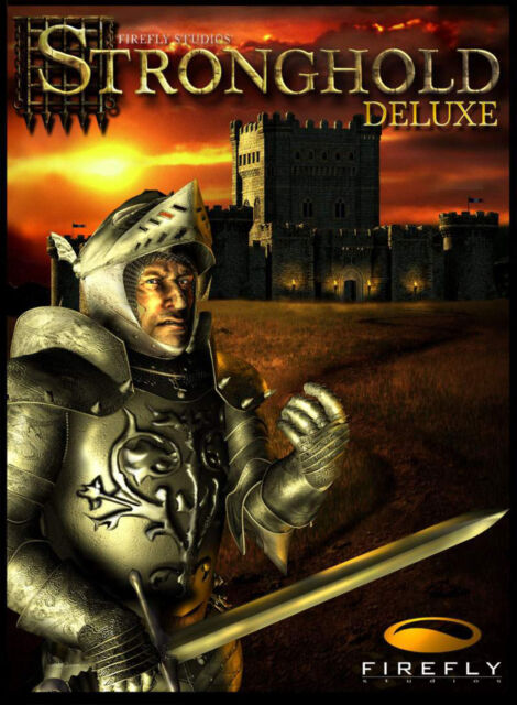 Stronghold Deluxe (PC, 2002, Eurobox)
