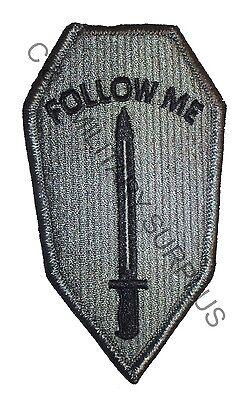 US Army ACU Follow Me Infantry School Velcro Uniform Patch New
