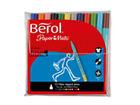 Pack of 12 Berol Colour Fine FibreTip Pens