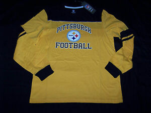 7e3c52a32 Image is loading Reebok-Men-039-s-Pittsburgh-Steelers-Long-Sleeve-
