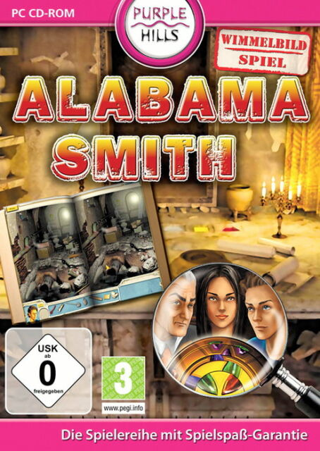 Alabama Smith (PC, 2009, DVD-Box)