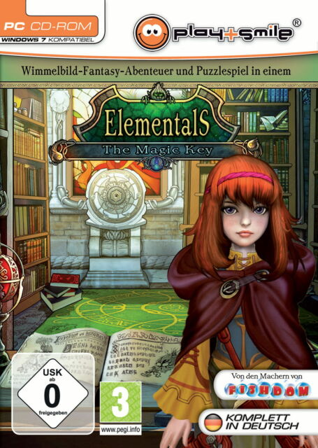 Elementals - The Magic Key (PC, 2010, DVD-Box)