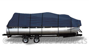 Pontoon-Boat-Cover-17-039-20-039-Weather-Proof-600D-UV-Waterproof-Boat-Cover-New