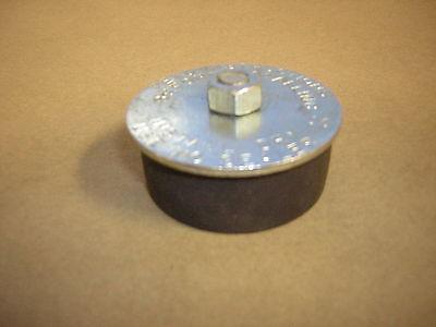 "2"" Rubber Expansion Plug/Rubber Freeze Plug/ Exhaust Pressure Test Plug"