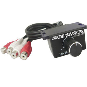 Universal Car Stereo Amp Remote Level Control Bass Boost