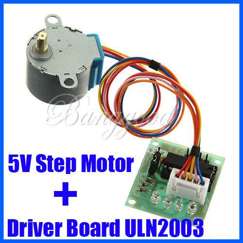 DC 5V Stepper Step Motor + ULN2003 Drive Driver Test Module Board 5 Wire 4 Phase