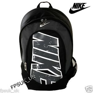 Nike-Ladies-Mens-Black-Rucksack-Backpack-Kit-Sport-Travel-Weekend-School-Bag-NEW