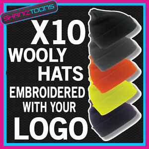 WOOLY-HAT-PERSONALISED-WITH-YOUR-OWN-LOGO-TEXT-BUSINESS-WORK-WEAR
