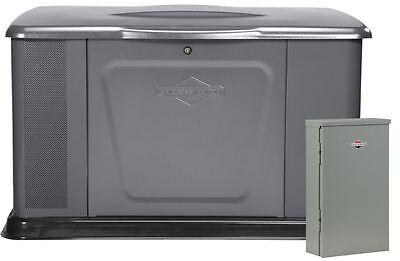 Briggs & Stratton 20kW Standby Generator 400amp(2x200A)  Transfer Switch #40396