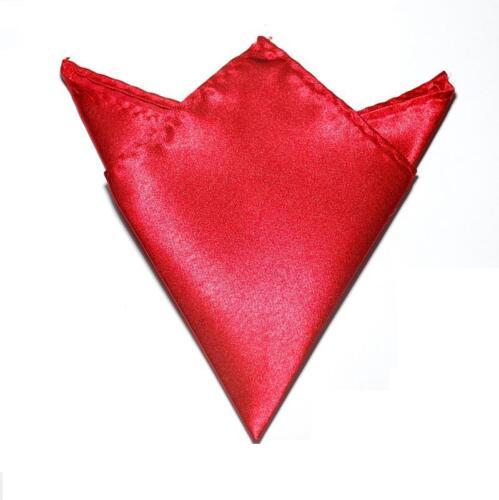 Hanky New Men/'s Pocket Square Handkerchief Various Colours