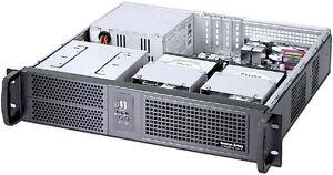 2U-D14-96-034-mATX-2x5-25-034-Rackmount-Case-YOUR-ATX-PSU-NEW