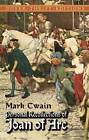 Personal Recollections Joan ARC by Mark Twain (Paperback, 2003)