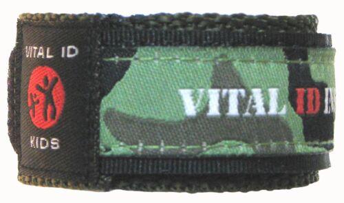 ICE info Lost Child Medical ID Wristband Kids,Diabetic Vital ID Asthmatic