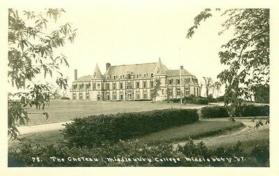 Middlebury,VT. x The Chateau at Middlebury College  RPPC