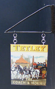 1-12-Scale-The-Coach-Horses-Pub-Sign-Bracket-Doll-House-Miniature-Bar