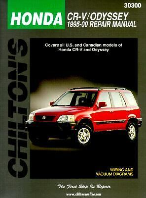 1995-2000 Chilton Honda CR-V & Odyssey Repair Manual