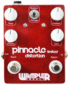 Wampler-Pedals-Pinnacle-Limited-Deluxe-Distortion-Guitar-Effects-Made-in-USA