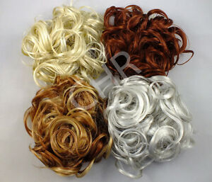 Scrunchie-KATIE-7-Ex-Large-Curly-Hair-Ponytail-Holder-Hairpiece-COLOR-27-R150