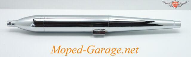 Kreidler Florett Eiertank K 54 Mokick Moped Zigarrenform Auspuff 28mm Neu*
