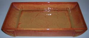 Pacific-Pottery-Art-Rust-Rectangular-Bowl