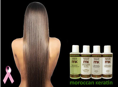 Brazilian keratin hair Treatment  professional kit proven formula 120ml x4