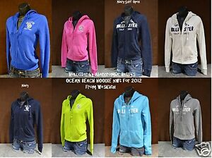 NWT-Hollister-by-Abercrombie-Womens-Ocean-Beach-Hoodie-Jumper-Sweatshirt-NEW