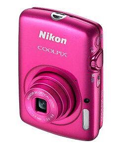 Nikon COOLPIX S01 10.1 MP Digital Camera - Pink