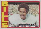 1972 Topps O.J. Simpson #160 Football Card