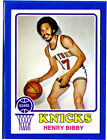1973 Topps Henry Bibby RC #48 Basketball Card
