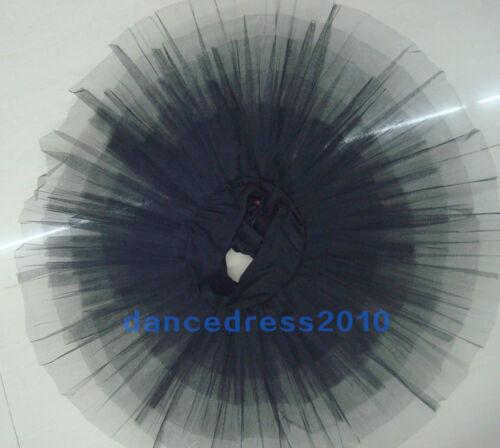 New Adult Professional Ballet Tutu Hard Organdy Platter Skirt Dance Dress 2Color