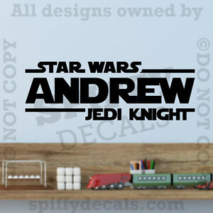 Image Is Loading Star Wars Jedi Knight Personalized Custom Name Quote  Part 56