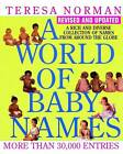 A World of Baby Names by Teresa Norman (Paperback, 2001)