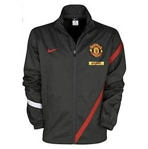 New-Nike-Manchester-United-MUFC-sideline-Track-Top-Jacket-Coat-S-M-XXL