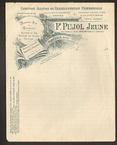 POMEROLS-34-COMPTOIR-AGRICOLE-AVOINE-amp-ENGRAIS-034-F-PUJOL-Jeune-034-en-1900