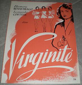 DP-VIRGINITE-Leonardo-Cortese-ELEONORA-ROSSI-DRAGO-1952