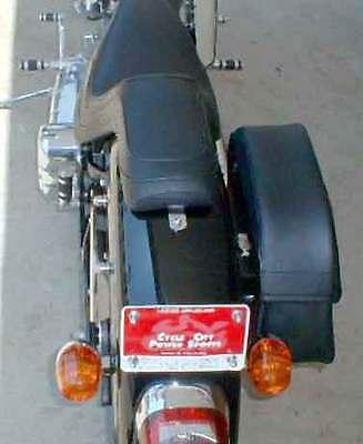 Easy Brackets Saddlebag Mounting System For HONDA SHADOW Models - SHIPS FREE!