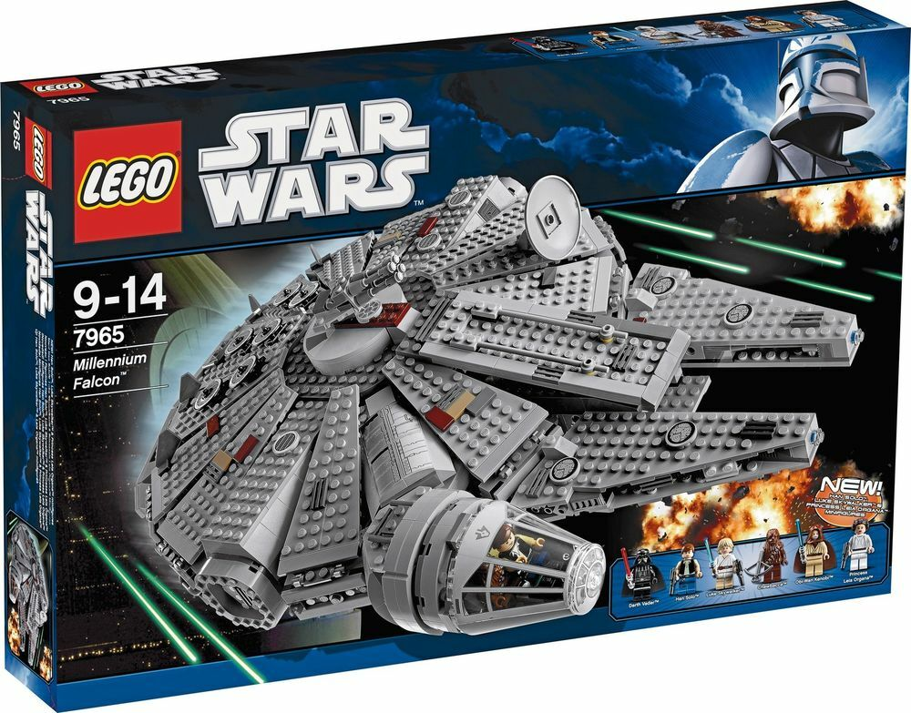 LEGO Star Wars Millennium Falcon (7965) Brand New and Sealed