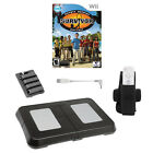 Intec Wii Fun N Fit Kit with BONUS Survivor Game Kit includes Wii Action Balance Board, Belt Clip, and Ba... Battery