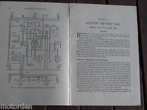 wiring diagram for austin a30. Black Bedroom Furniture Sets. Home Design Ideas