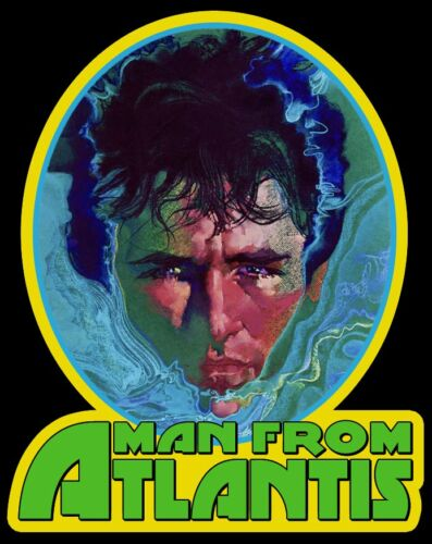 70's TV Classic Man from Atlantis Poster Art custom tee Any Size