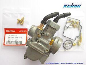 Keihin-PE-24-carburetor-NEW-repair-kit-main-jet-kit-7-pcs