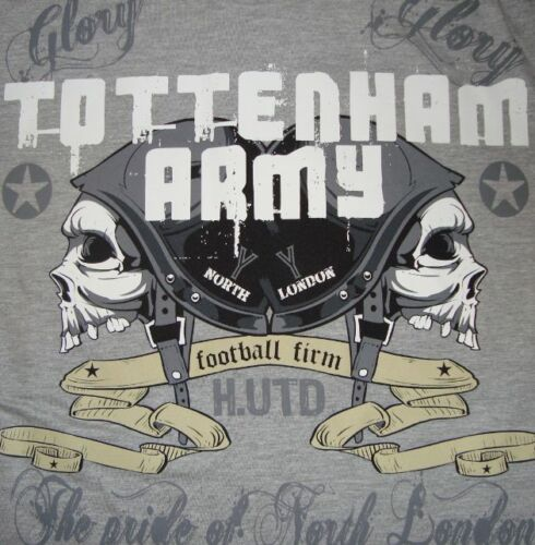 Tottenham Army SOCCER//FOOTBALL entreprise T-shirt jersey Hotspur Spurs FC hooligans