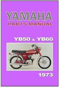 Yamaha parts manual yb60 and yb50 1973 1974 on replacement for Yamaha ysp 5600 manual
