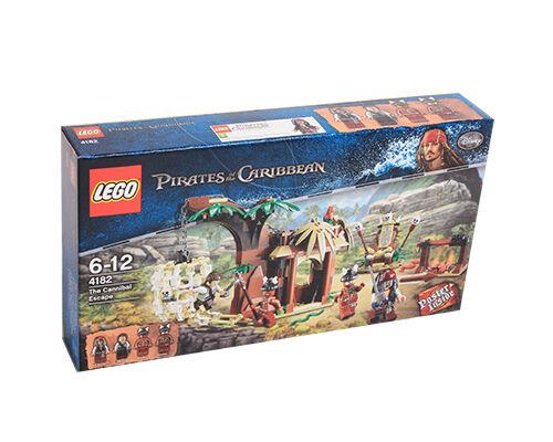 Lego  Pirates of the voitureibbean The Cannibal Escape (4182)  acheter pas cher neuf