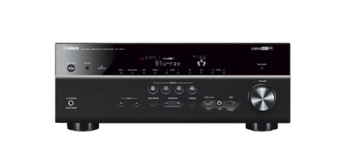 Yamaha Rx-V673 3D 7.1  Channel Home Theater HD Network Receiver USB HDMI Rxv673