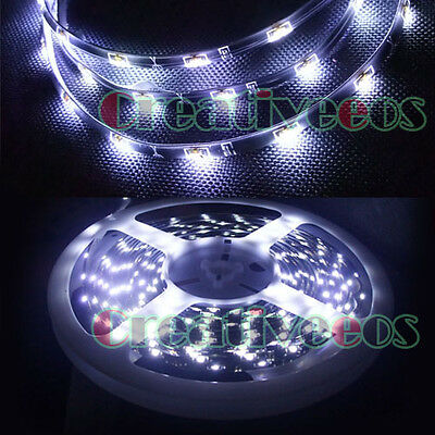 5M 16.4' Side-emitting SMD 335 250LEDs Glow Waterproof Flexible LED Strip Light