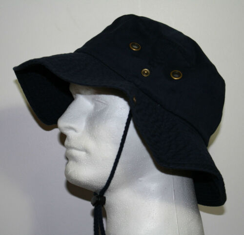 BEIGE GREEN BLACK WHITE GRAY 100/% COTTON WIDE BRIM FISHING BUCKET SAFARI HATS