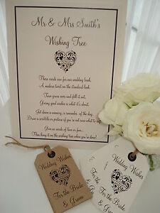 Image Is Loading Wish Tree Sign Poem 2 Styles Available